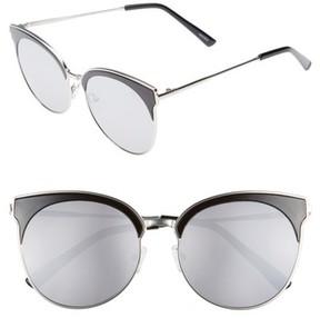 Quay Women's Mia Bella 56Mm Sunglasses - Black/ Silver