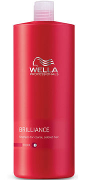Wella Brilliance Shampoo - Coarse - 33.8 oz.