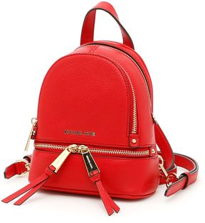 MICHAEL Michael Kors Extra Small Rhea Backpack - BRIGHT RED|ROSSO - STYLE