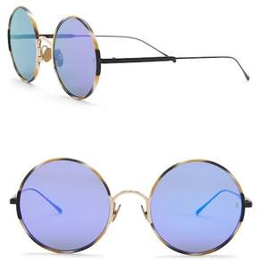 Cat Eye SUNDAY SOMEWHERE Yeti 53mm Round Sunglasses
