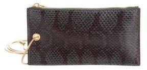 Calvin Klein Collection Snakeskin Mini Bag