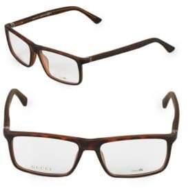 Gucci 55MM Square Optical Glasses