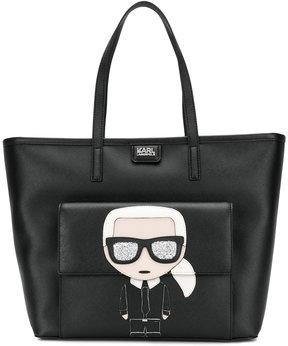 Karl Lagerfeld K/Ikonik shopper