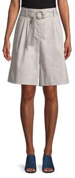 Ellen Tracy The Hampton Belted Wide Leg Shorts