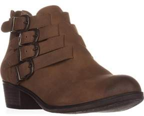 American Rag Ar35 Darie Strappy Ankle Boots, Tan.