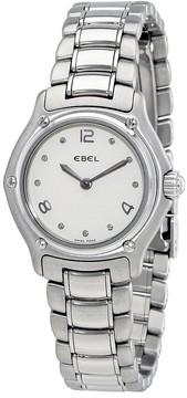 Ebel 1911 Mini Silver Dial Stainless Steel Bracelet Ladies Watch