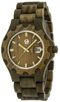Earth Gila Collection ETHEW3304 Unisex Wood Watch with Wood Bracelet-Style Band