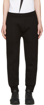 Neil Barrett Black Piping Lounge Pants