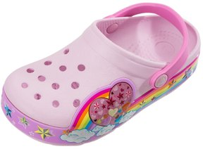 Crocs Girls' Rainbow Heart Clog (Toddler/Little Kid/Big Kid) 8147741