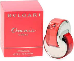 Bvlgari Omnia Coral for Ladies Eau de Toilette, 2.2 oz./ 65 mL