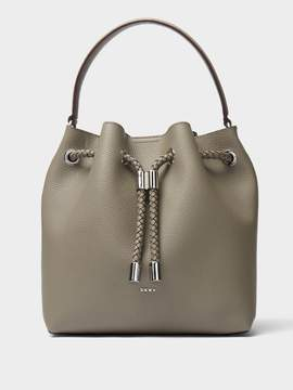DKNY Alice Large Leather Bucket Bag