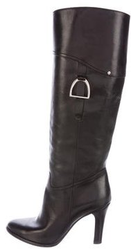 Ralph Lauren Leather Mid-Calf boots