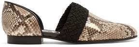 Loewe Flex python loafers