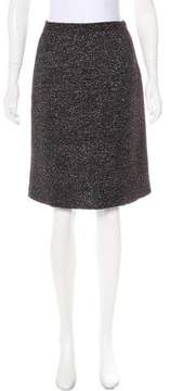 Christian Dior Knee-Length Knit Skirt
