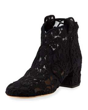 Laurence Dacade 50mm Lace Bootie
