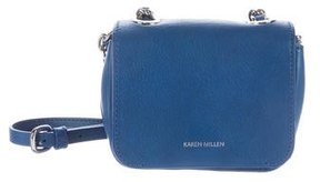 Karen Millen Leather Crossbody Bag