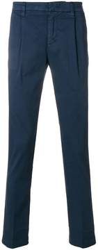 Entre Amis straight fit trousers