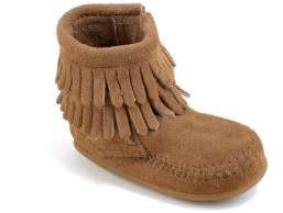 Minnetonka Infant's Double Fringe Boots