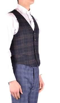 Manuel Ritz Men's Blue Wool Vest.