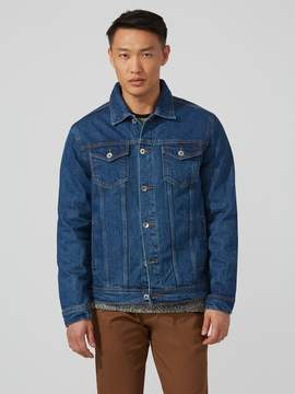 Frank and Oak The Rufus Denim Jacket in Indigo