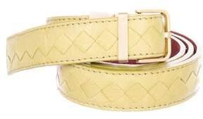 Bottega Veneta Intrecciato Skinny Belt