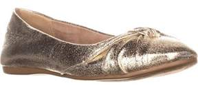 Style&Co. Sc35 Audreyy Wrap Bow Ballet Flats, Light Gold.