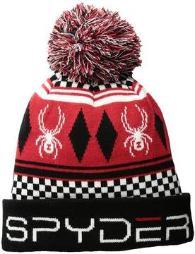 Spyder Double Diamond Hat Cold Weather Hats