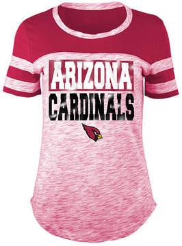 5th & Ocean Women's Arizona Cardinals Space Dye Foil T-Shirt
