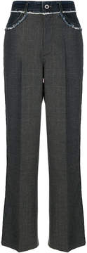 Diesel Black Gold wide leg trousers