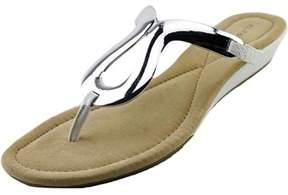 Alfani Farynn Women Open Toe Synthetic Wedge Sandal.
