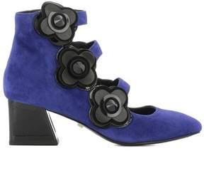 Kat Maconie Women's Blue Suede Heels.