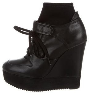 Ruthie Davis Balm Wedge Ankle Boots