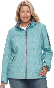Free Country Plus Size Hooded Rain Jacket