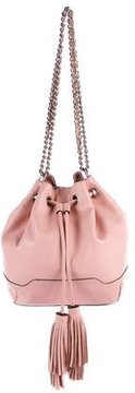 Rebecca Minkoff Lexi Leather Bucket Bag - PINK - STYLE