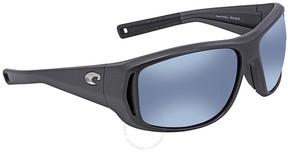 Costa del Mar Montauk Grey Blue Mirror 580P Rectangular Sunglasses MTK 188 OBMP