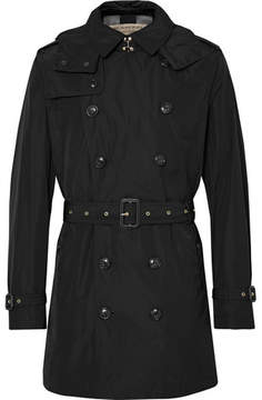 Burberry Shell Hooded Trench Coat