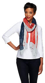 Collection XIIX Collection 18 Floral Flag Printed Wrap