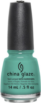 CHINA GLAZE China Glaze Turned Up Turquoise Nail Polish - .5 oz.