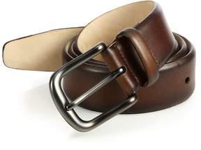 Saks Fifth Avenue Collection Men's Hives Burnished Leather Belt
