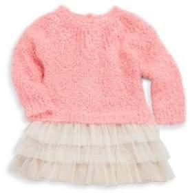 Billieblush Baby's & Toddler's Sequin Sweater Mesh Dress