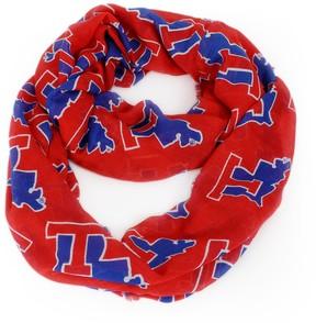NCAA Louisiana Tech Bulldogs Logo Infinity Scarf