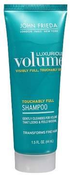 John Frieda Luxurious Volume Touchably Full Shampoo 1.5oz
