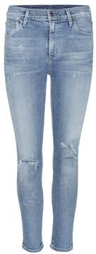 Citizens of Humanity Rocket distressed high-rise skinny jeans