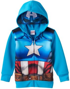 Marvel Toddler Boy Captain America Eye Mask Hoodie