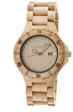 Earth Eco-Friendly Khaki/Tan Wood Raywood Watch