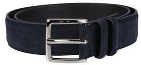 Orciani Men's U07299notte Blue Suede Belt.