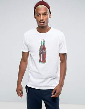 Pull&Bear Coca Cola T-Shirt In White