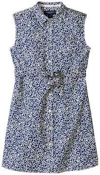 Toobydoo Sleeveless Woven Shirtdress (Toddler/Little Kids/Big Kids)