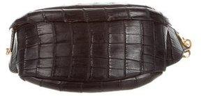 Jil Sander Alligator Waist Bag