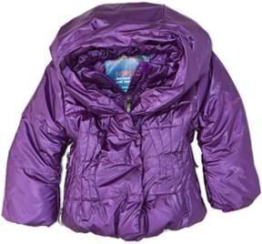 Obermeyer Girls' Ingenue Purple Hooded Jacket.
